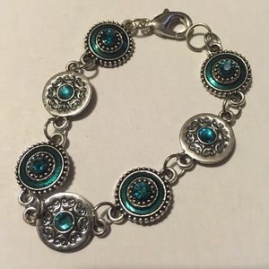 Turquoise bracelet made by a local artist